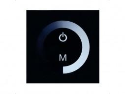 DDO Kontroler za LED traku zidni ugradbeni, na dodir, single color 1-kanalni, 8A, 12/24V