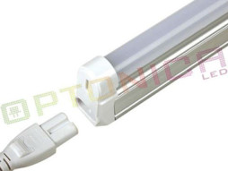 Optonica LED cijev T5 s kućištem 145 CM, 20W/220V, MAT 2800K topla bijela