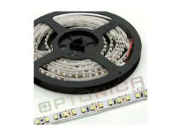LED traka 12V 3014 120SMD/m 12W/m 4500K prirodna bijela IP20 – bijela baza – Optonica