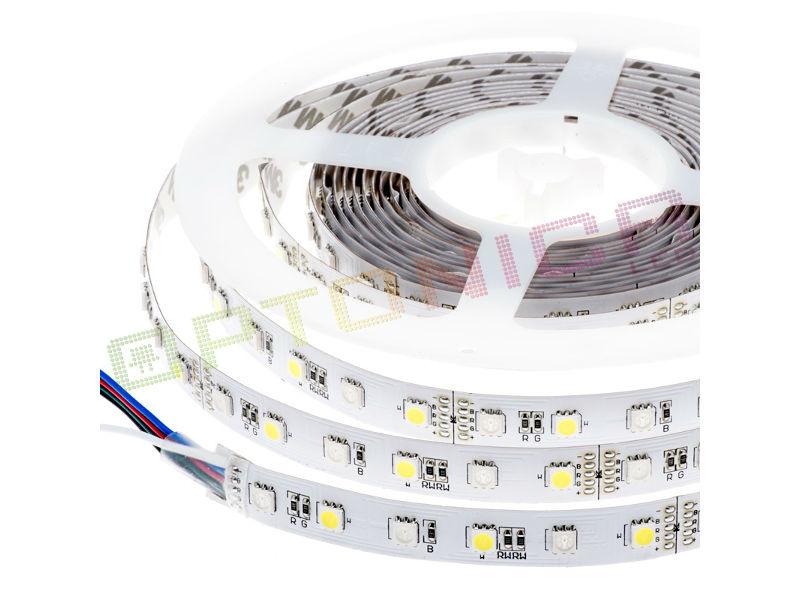 LED traka 12V 5050 60SMD/m 14,4W/m RGBW – Optonica