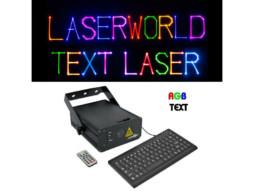Text/animacijski laser RGB 350mW + tipkovnica – CR