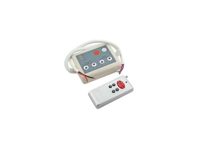 LED kontroler bežični 6 tipki, RF, 24V