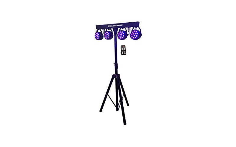 Set 4 LED reflektora, 4 x 12, 3u1, RGB, daljinski