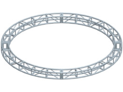 Milos Alu konstrukcija krug, diametar 2m, 4 komponente + spajalice